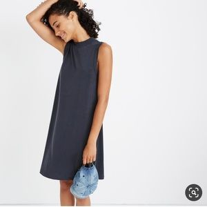 Madewell Sandashed Mockneck Tank Dress